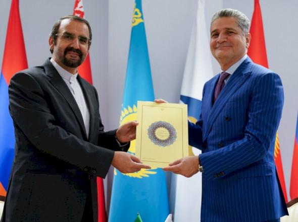 Слом стратегии Анаконды: к вступлению Ирана в ЕАЭС
