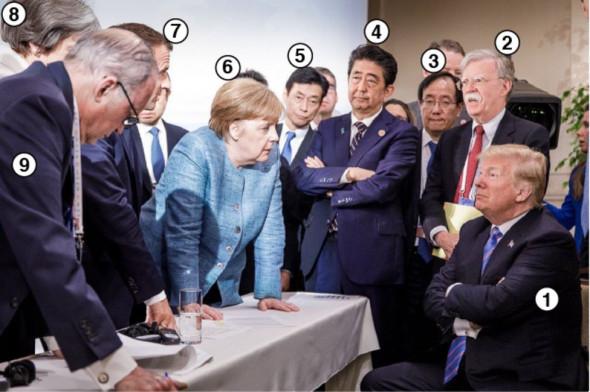Что произошло на саммите  G7