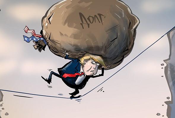 Каким образом Трамп уничтожит весь долг США