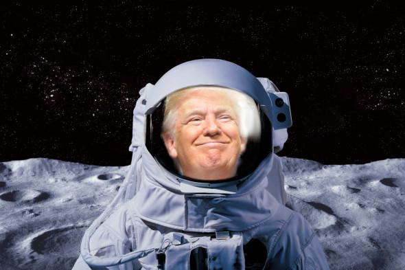 Трамп потребовал «любой ценой» отправить американцев на Луну до 2024 года