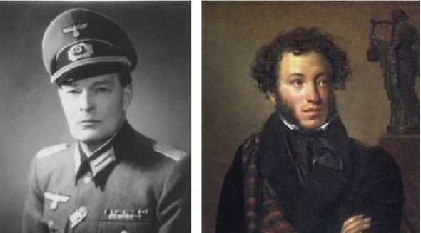 Правнук Пушкина – немецкий офицер, отказавшийся выполнять преступный приказ