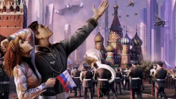 Триколорная пастораль российской демократии