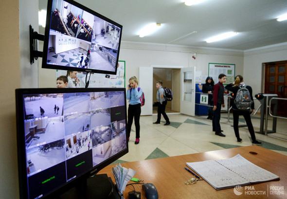 Все школы России оборудуют камерами с функцией распознавания лиц