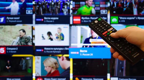 Телевидению доверяют 23% россиян. Опрос